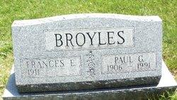 Calla Frances <i>Ellenburg</i> Broyles