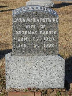 Lydia Maria <i>Potwine</i> Barnes