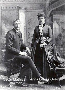 Anna Louisa <i>Gobin</i> Bowman