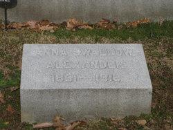 Anna <i>Swallow</i> Alexander