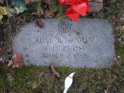 Rose B. <i>Wolfe</i> Arnold