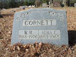 Alma C <i>Butts</i> Cornett