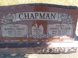 Conway William Chapman