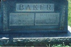 Paralee Ellen <i>Bible</i> Baker