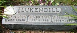 Carrie R. <i>Gobin</i> Lukenbill