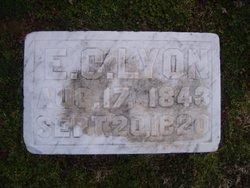 Edward Coleman Lyon
