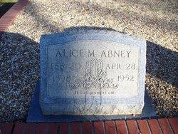 Julia Alice Alice <i>Mathis</i> Abney