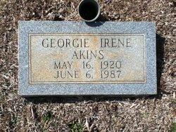 Georgie Irene Akins