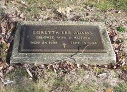 Loretta Lee Adams