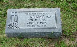 Nicie <i>Riley</i> Adams
