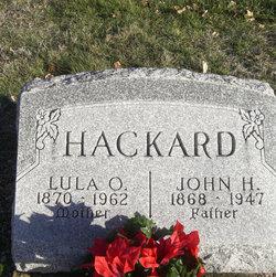 Lula Olive <i>Mitchell</i> Hackard
