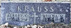 Hulda M <i>Scherzer</i> Krauss