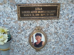 Lordes Agnes Lola <i>Modelo</i> Elliott