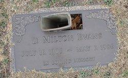 D Milton Evans