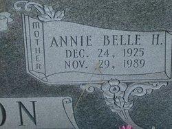 Annie Belle <i>H.</i> Parton