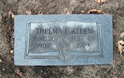 Thelma Eulla Allen