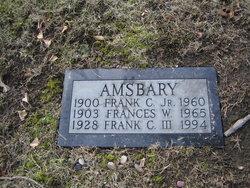 Frank Clifford Amsbary, Jr