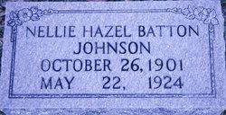 Nellie Hazel <i>Batton</i> Johnson