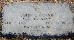 Barbara M <i>Seibel</i> Frank