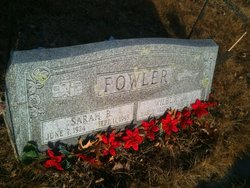 Sarah Bessie Betty <i>(Bailey)</i> Fowler