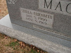 Stella Elizabeth <i>Clouse</i> Mackie