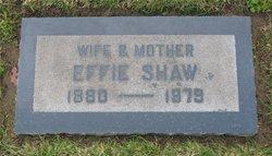 Effie Bell <i>Page</i> Shaw