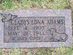 Gladys Edna Adams