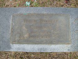 Helen L <i>Barnett</i> Clements