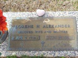 Rebecca Lorene <i>Holland</i> Alexander