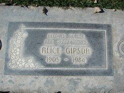 Alice Gipson