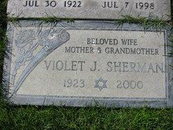 Violet J <i>Jacoby</i> Sherman