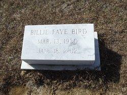 Billie Bird grave