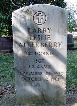 Sgt Larry Leslie Atterberry