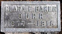 Clara Ellen Emma <i>Baker</i> Burr