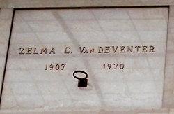 Zelma E VanDeventer