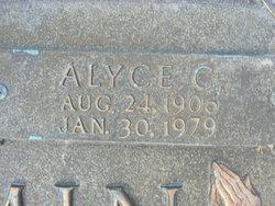 Alyce Lydia <i>Carson</i> Benjamin