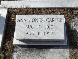 Ann <i>Jones</i> Carter
