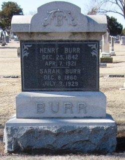 Sarah Burr