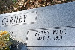 Kathy <i>Wade</i> Carney