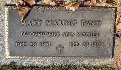 Mary <i>Marino</i> Fant
