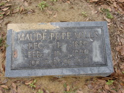 Maude <i>Pope</i> Mills