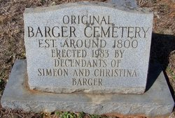 Barger Family Cemetery
