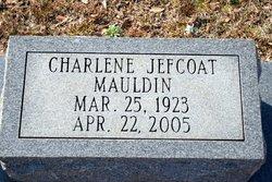 Charlene <i>Jefcoat</i> Mauldin