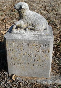 Infant Son Bullock