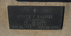 Jonce P. Barnes