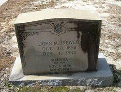 Melvina <i>Conner</i> Brewer