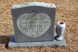 Dorothy Grimes Odham