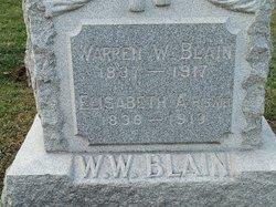 Warren W Blain