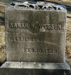 Sarah K. <i>Lovell</i> Wesson