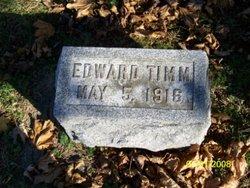 Edward Timm